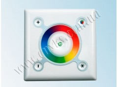 RGB touch-контроллер 9A 108Вт 12В white (wall-in)