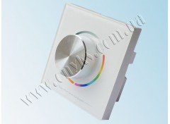 Wall Mounted RGB/Multi White/White контроллер 12A 144Вт 12В (Panel)